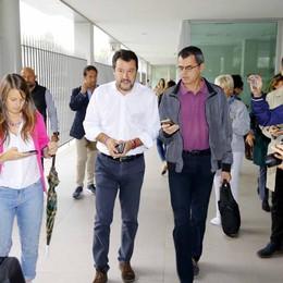 Lecco, don Giorgio condannato  «Ha diffamato Matteo Salvini»