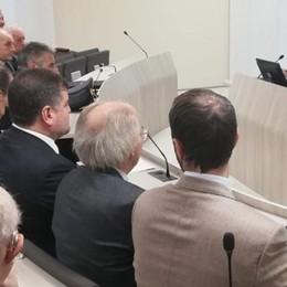 Lecco: il ministro Amendola in Fiocchi  Sullo sfondo la guerra dei dazi