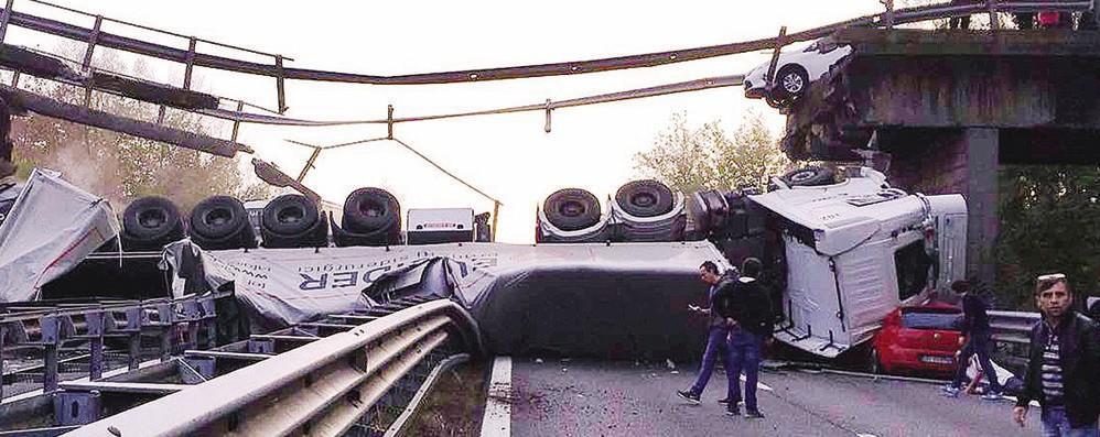 Crollo del ponte, Provincia parte civile