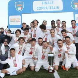 Casatese al settimo cielo  Ha conquistato la Coppa Italia