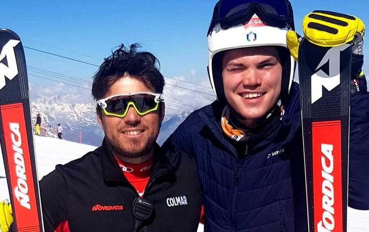 La Coppa del mondo vista dallo ski man  Maxenti, tra sci e talenti