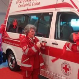 Un bel regalo per la Croce Rossa  «Ecco la nuova ambulanza»