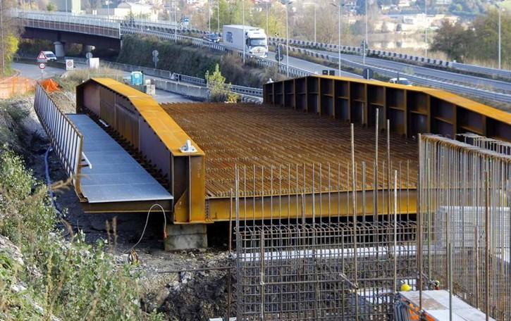 I lavori sul ponte di Isella quasi finiti  Varo a inizio anno, l'apertura in aprile