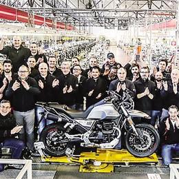 Il primo vagito della nuova Moto Guzzi V85 TT