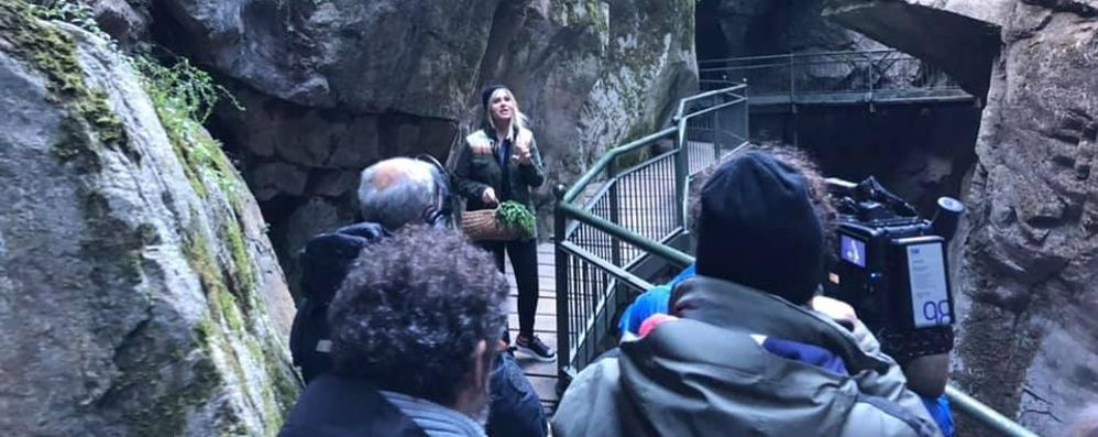 """L'Orrido di Bellano  protagonista a """"Linea verde"""""""