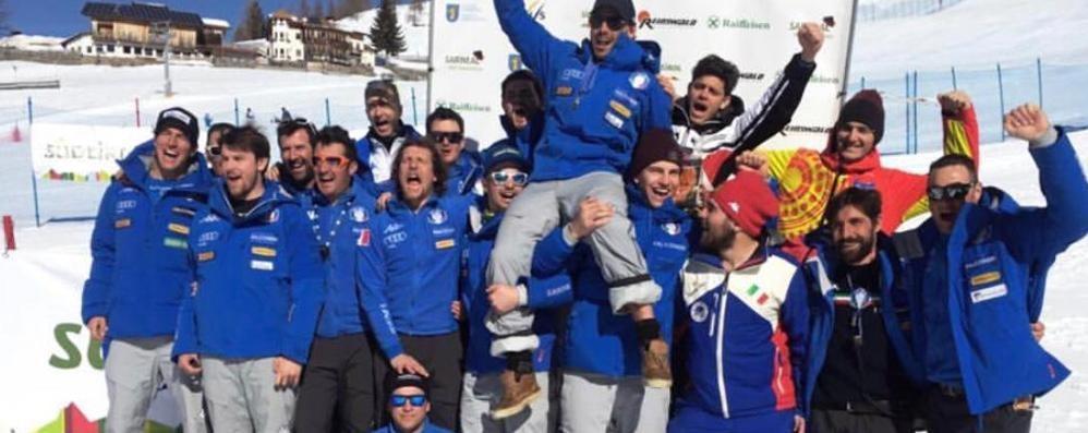 Cazzaniga, che exploit   in Coppa Europa