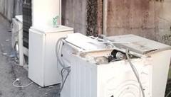 Elettrodomestici per giorni in strada  Disagi a Rossino