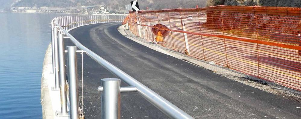 Abbadia, primo tratto ciclabile asfaltato  Ma sul resto è nebbia