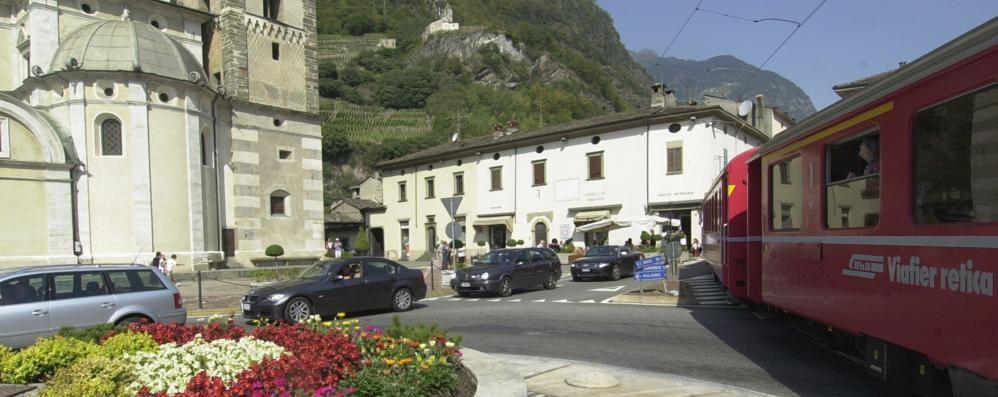 Tirano, il trenino rosso traino del turismo  Nel 2018 in città quasi 36mila viaggiatori