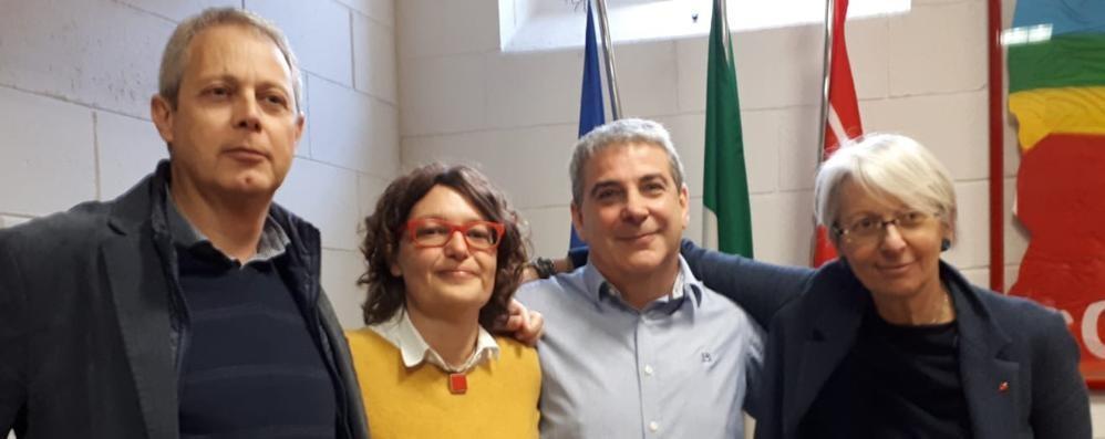 Cgil, la nuova segreteria  Eletti Seghezzi e Brigatti