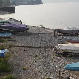 Mandello, controlli sulle barche in spiaggia  Quelle abusive saranno rimosse