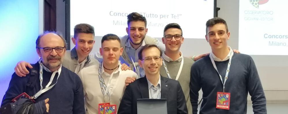 Un dialogo con Leonardo   Studenti del Rota premiati