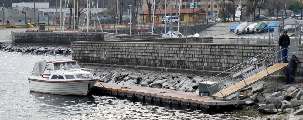 Valmadrera, stagione turistica al via  Un pontile di venti metri e infopoint