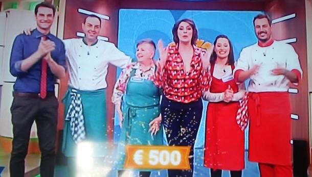 """Luciana senza rivali in tv  È sua la """"Prova del cuoco"""""""