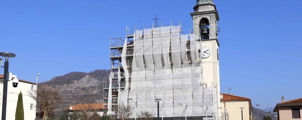 Civate. In parrocchiale  ripresi i lavori di restauro
