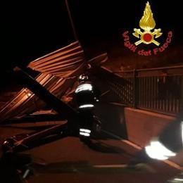 Il vento sconvolge la provincia  Superlavoro per i vigili del fuoco