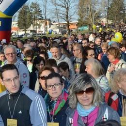 Bosisio, Camminata da record  Oltre ventimila persone