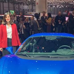 La carrozzeria della Ferrari F8 Tributo  made in Fontana Group di Calolzio