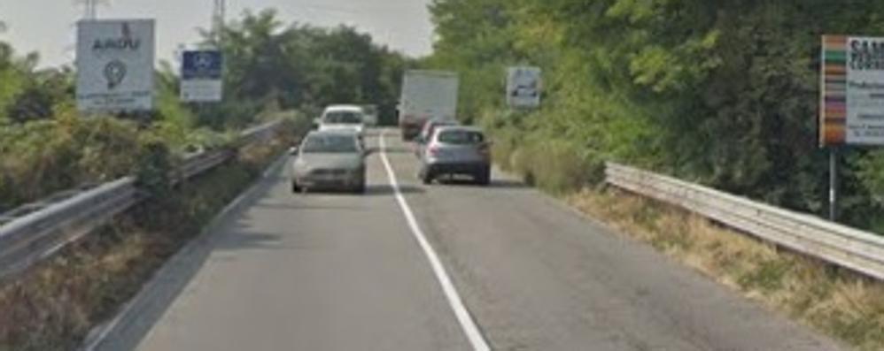 Osnago: il ponte della provinciale   vietato ai camion più pesanti