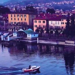 """Il lago visto dall'alto, un video col drone  sul """"Borgo più bello"""""""