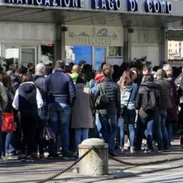Lecco: battelli, biglietti online  Mai tanti passeggeri: 4 milioni