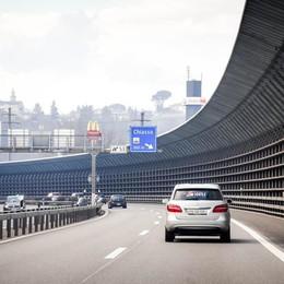 Autostrada svizzera, velocità smart  Se c'è traffico  il limite si abbassa