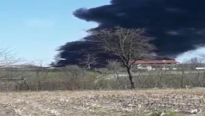 Mariano incendio discarica