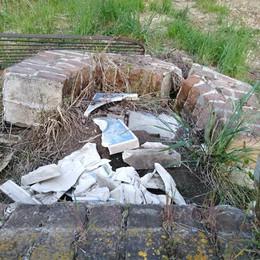 Abbadia, vandali accaniti sui simboli sacri  Distrutta la cappellina di Lombrino