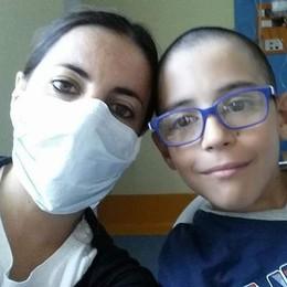 Osnago, la sfida di Matteo  Cerca un donatore per sopravvivere