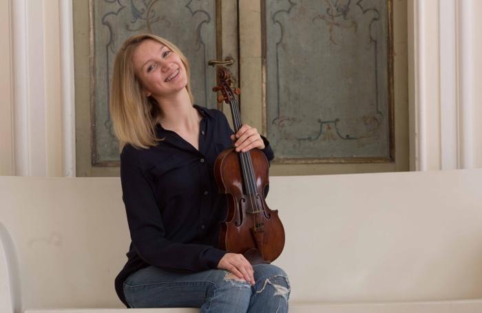 La violinistra Giulia Rimonda - foto di Ivano Buat