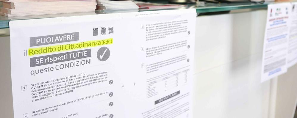 Reddito di cittadinanza a Lecco  L'Inps boccia il 40% delle richieste