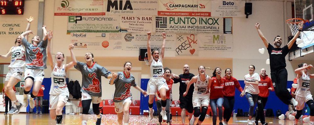 Capolavoro Costa,   promossa in serie A1
