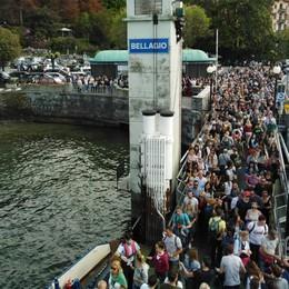 Troppi turisti a Bellagio  «Ingresso a pagamento»