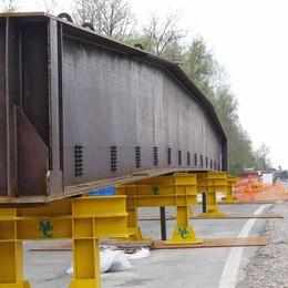 Annone, per la posa del nuovo ponte  Ss 36 chiusa dal 27 al 30 maggio