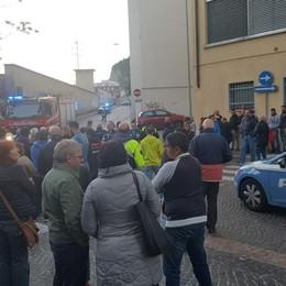 Allarme bomba  in Sala Ticozzi