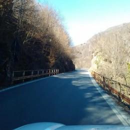 La strada si allarga e diventa più sicura  Mezzo milione per la Provinciale 62