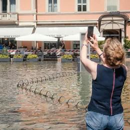Esondazione a Como Il Lario scende lentamente  Lungolago chiuso due giorni