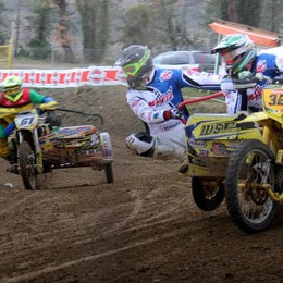 Motocross, quad   e sidecar cross tricolori