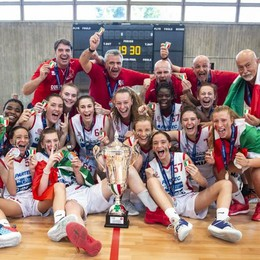 Le Under 16 Costa  campionesse italiane