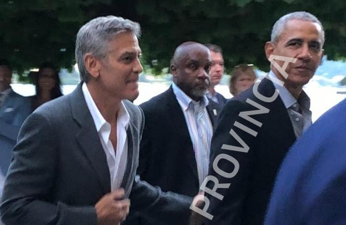 Barack Obama e George Clooney COPYRIGHT