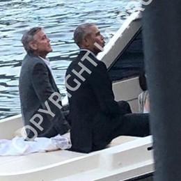 George e Obama a Villa d'Este Le immagini esclusive dell'arrivo