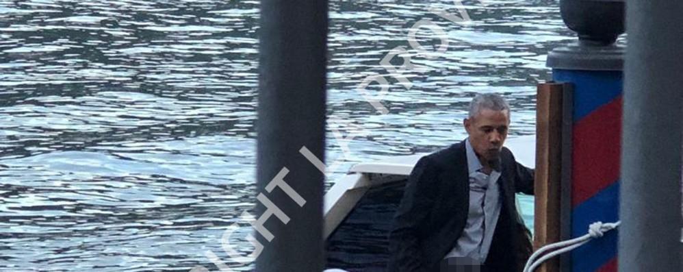 Obama ospite da Clooney a Laglio Uscita serale e cena a Villa D'Este