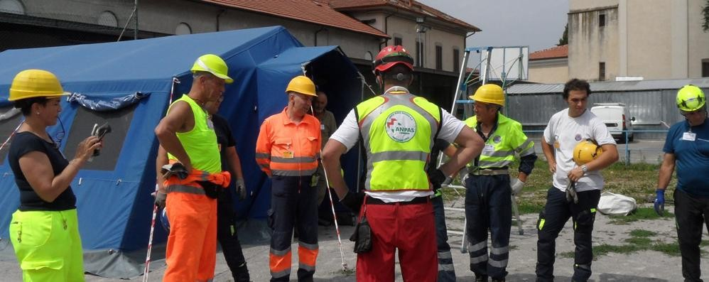 Galbiate: Protezione civile    Strada nuovo coordinatore