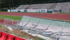 Bione, appaltati i lavori esterni  «Importanti per atleti e società»
