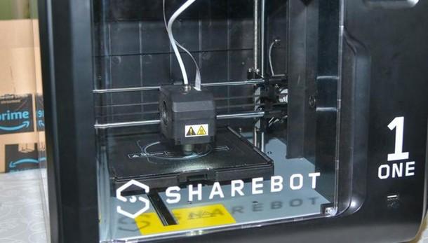 Lecco. Sharebot fa scuola  Pioniera delle stampanti 3D