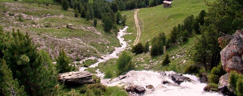 Due milioni per i danni del maltempo    A Valfurva si allontana l'acqua dal Ruinon