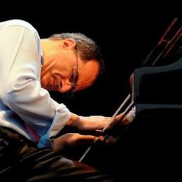 Il jazz senza limiti di Pieranunzi  Concerto all'hangar in riva al lago