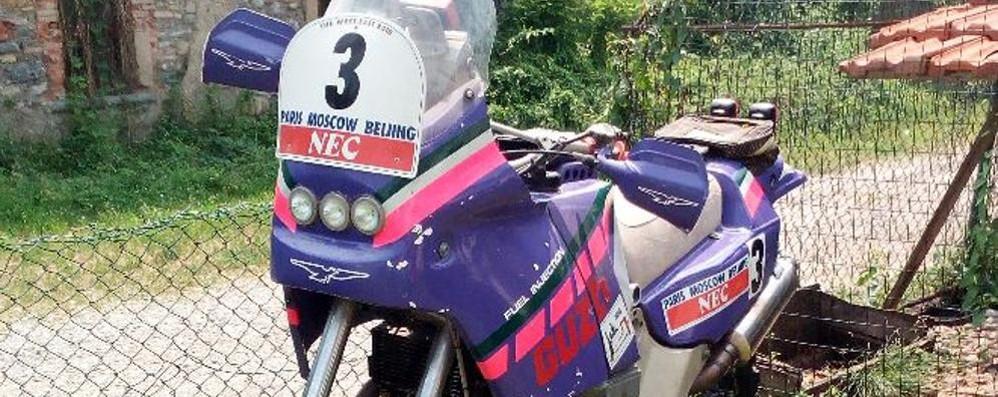 Mandello, La Guzzi della Dakar  star del Motoraduno