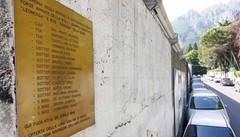 Lecco, rimossa la targa allo stadio  in memoria dei soldati della Rsi uccisi