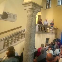 Biblioteca civica intitolata a Balbiani  «Presto nascerà il caffè degli artisti»